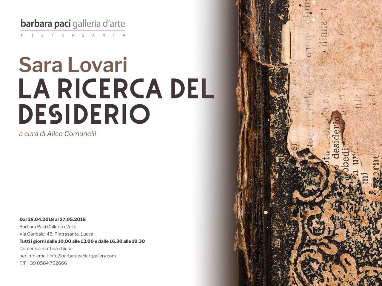Sara Lovari - Barbara Paci Galleria d
