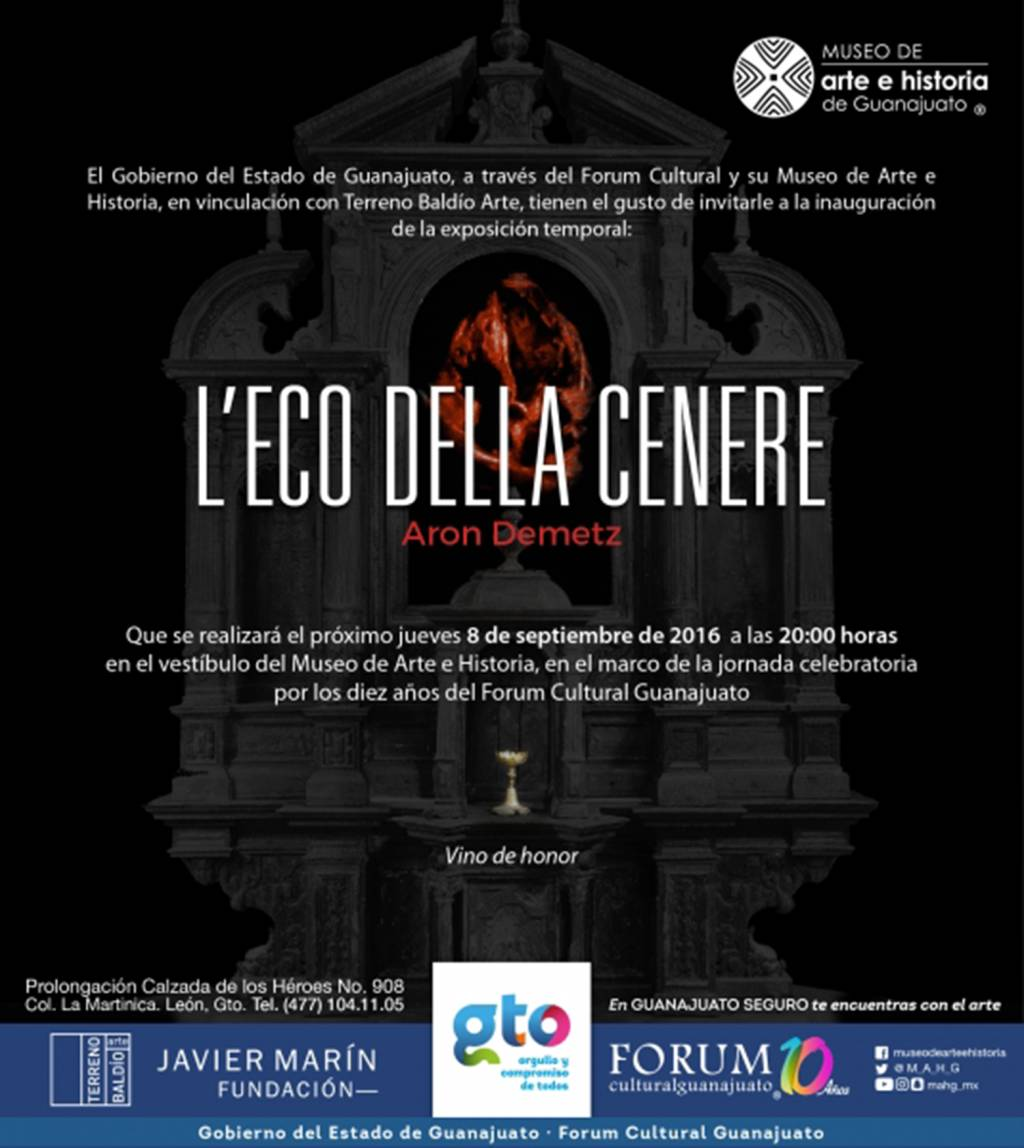 Aron Demetz - Museo de Arte e Historia de Guanajuato - Mexico | Settembre 2016 - Gennaio...