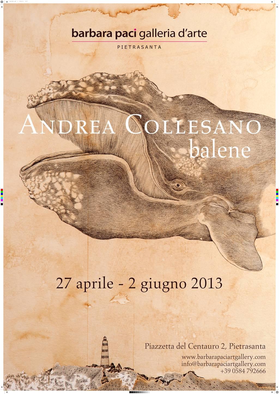 Andrea Collesano - Balene - Barbara Paci Galleria d