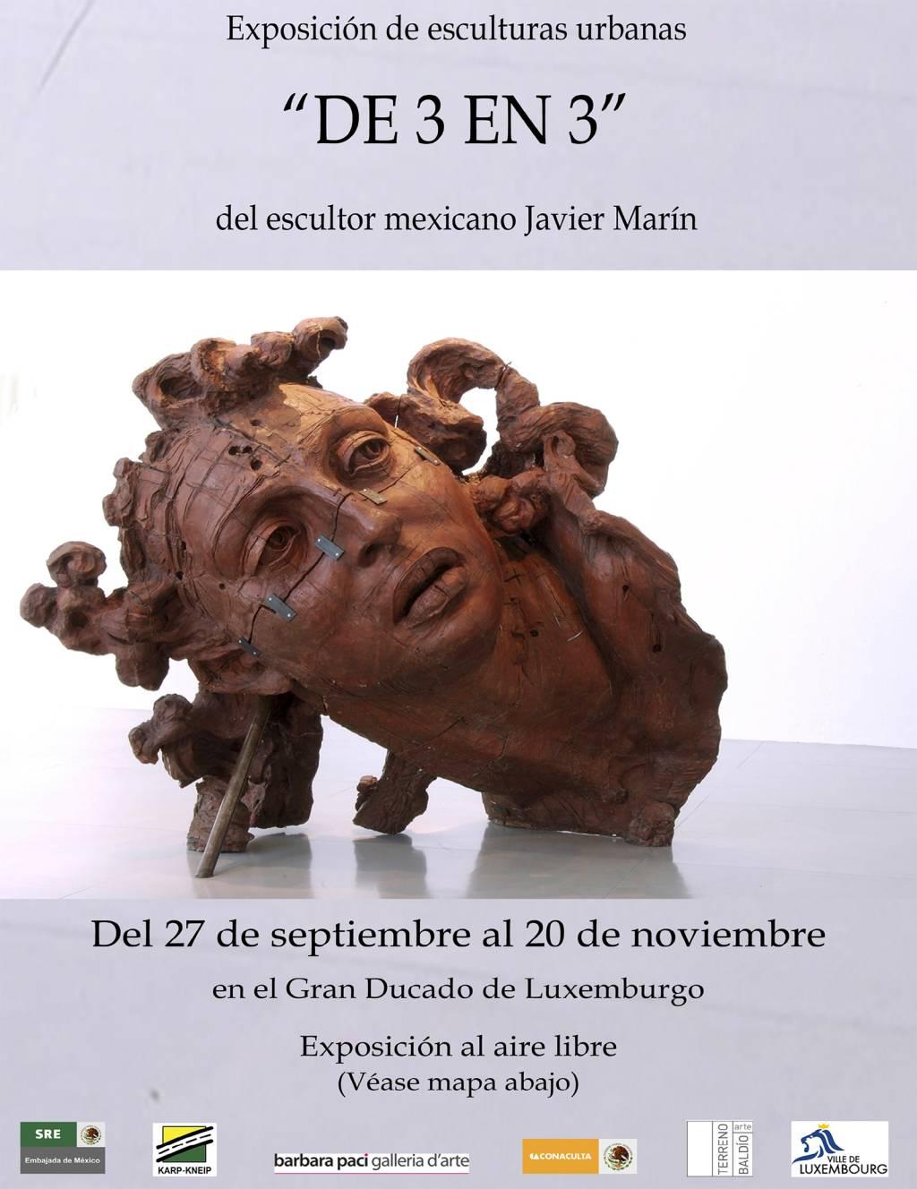 Javier Marin - De 3 en 3 - Place des Martirs e Place Guillaume - Lussemburgo | Settembre...