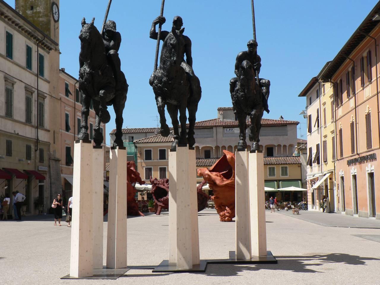 Javier Marin - De 3 en 3 - Piazza Duomo, Sant